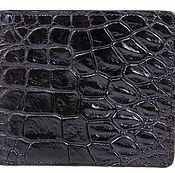 Сумки и аксессуары handmade. Livemaster - original item Wallet crocodile leather IMA0022B5. Handmade.