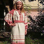 """Одежда ручной работы. Ярмарка Мастеров - ручная работа Платье""""красно солнышко"""". Handmade."""