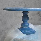 Сувениры и подарки ручной работы. Ярмарка Мастеров - ручная работа Тортовница синяя. Handmade.