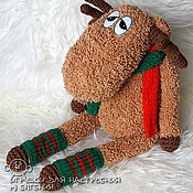 Куклы и игрушки handmade. Livemaster - original item Deer. Handmade.