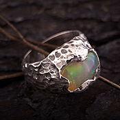 """""""Mystic"""" серебряное кольцо с эфиопским опалом"""