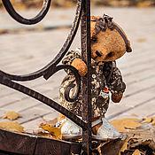 Куклы и игрушки ручной работы. Ярмарка Мастеров - ручная работа Ретро мишка тедди  Дуняша. Handmade.
