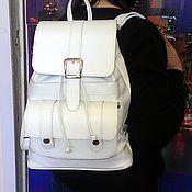 Сумки и аксессуары handmade. Livemaster - original item Backpack leather 91. Handmade.