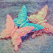 "Мыло ручной работы. Ярмарка Мастеров - ручная работа Мыло ""Нежная бабочка"". Handmade."