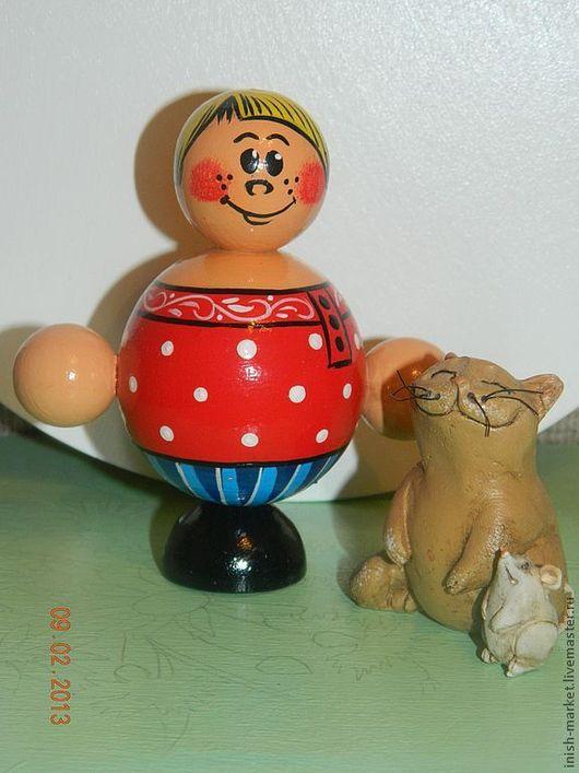 Человечки ручной работы. Ярмарка Мастеров - ручная работа. Купить Егорка. Handmade. Кукла, детям, подарок на день рождения