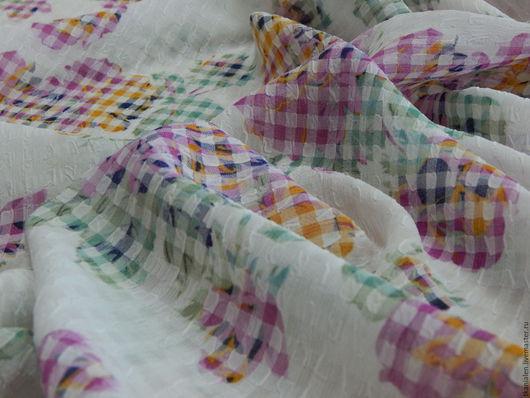 Итальянская ткань, жатка Состав: вискоза, пэ Ширина 122 см Цена 900 рублей