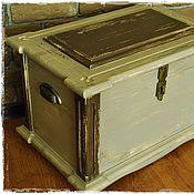 Для дома и интерьера ручной работы. Ярмарка Мастеров - ручная работа Сундук сосновый. Handmade.