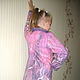 """Для подростков, ручной работы. Детское пальто """"В розовых мечтах"""". Ирина Майорова (irinamay65). Ярмарка Мастеров. Шерсть для валяния"""