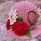 Шляпы ручной работы. Ярмарка Мастеров - ручная работа Шляпки - клумбы. Handmade.