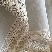 Для дома и интерьера handmade. Livemaster - original item Linen tablecloth,