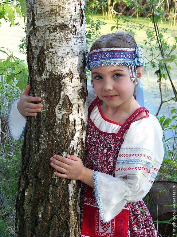 Gingham sundress 'Lyubava', Costumes3, Bryansk,  Фото №1