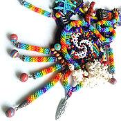 """Украшения ручной работы. Ярмарка Мастеров - ручная работа Африканское украшение """"Ari people"""". Handmade."""