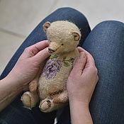 Куклы и игрушки ручной работы. Ярмарка Мастеров - ручная работа Мишка тедди с вышивкой, рост 26 см. Handmade.