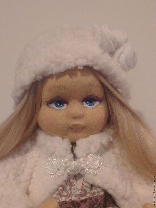 Коллекционные куклы ручной работы. Ярмарка Мастеров - ручная работа. Купить Кукла Алиса. Handmade. Бежевый, кукла интерьерная
