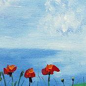 Картины и панно handmade. Livemaster - original item Maki. Painting, oil on canvas.. Handmade.