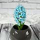 Гиацинт небесно-голубого цвета^^ Автор: Мащенко Анастасия