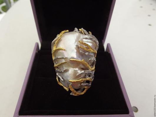 Кулоны, подвески ручной работы. Ярмарка Мастеров - ручная работа. Купить Кулон-подвеска «Baroque Pearl». Handmade. Подвеска