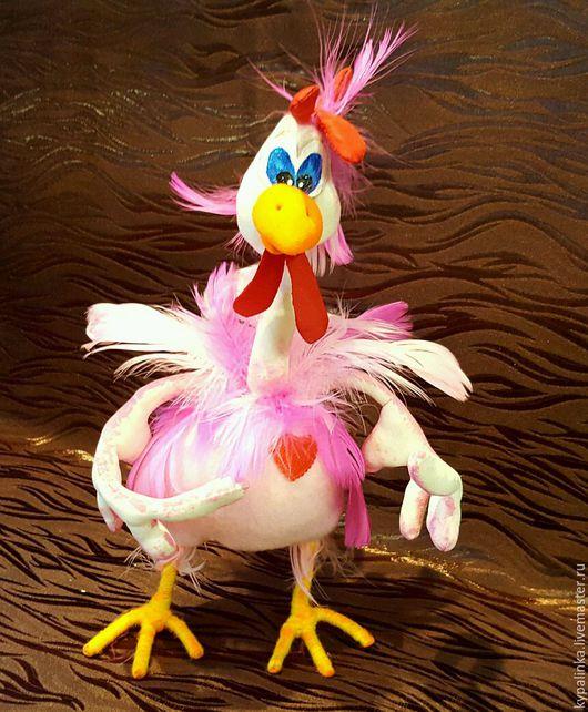 Новый год 2017 ручной работы. Ярмарка Мастеров - ручная работа. Купить Петушок Петенька. Handmade. Комбинированный, кукла ручной работы