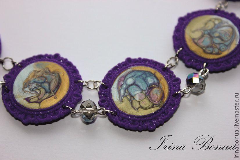 скидка на украшения, акция магазина, акция сегодня, аксессуары, шикарный комплект, фиолетовое украшение, irina bonua, бесплатно, только сегодня, купить украшение