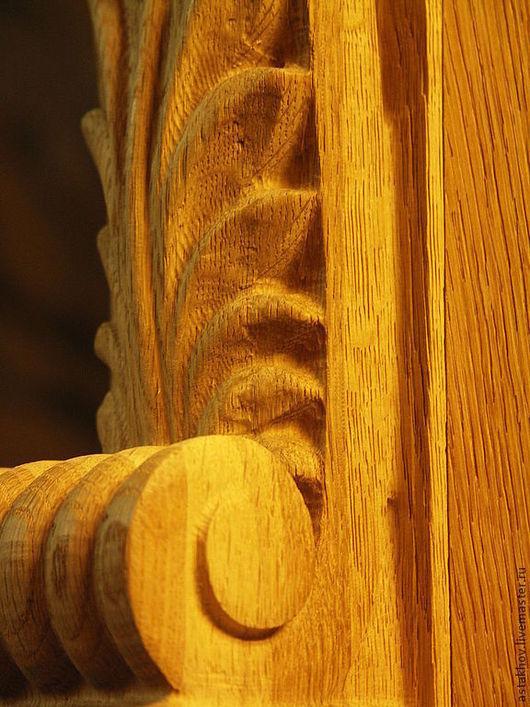 Мебель ручной работы. Ярмарка Мастеров - ручная работа. Купить портал каминный дубовый. Handmade. Камин, золотистый, Дуб