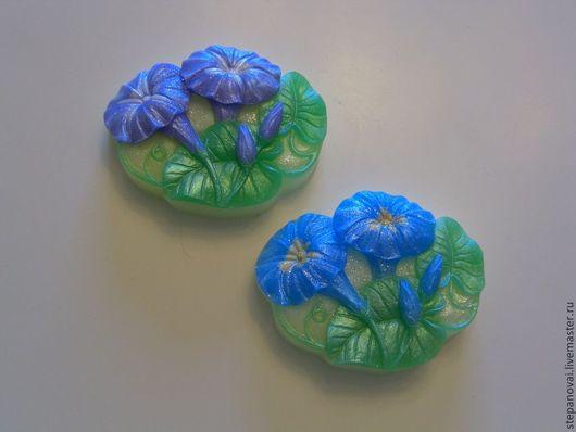 Мыло ручной работы. Ярмарка Мастеров - ручная работа. Купить Мыло ручной работы-Вьюнки. Handmade. Мыло, сувениры и подарки