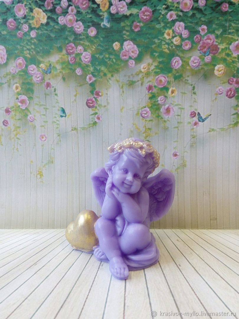 Soap Angel with heart, Soap, Moscow,  Фото №1