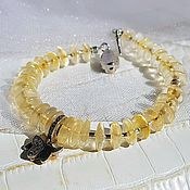 Украшения handmade. Livemaster - original item Bracelet in citrine. Handmade.