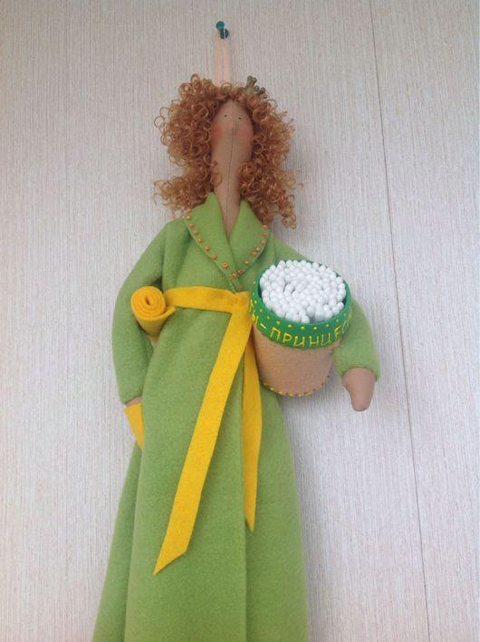Куклы Тильды ручной работы. Ярмарка Мастеров - ручная работа. Купить Хранительница ватных дисков и палочек Принцесса. Handmade. Тильда
