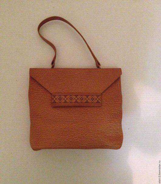 Винтажные сумки и кошельки. Ярмарка Мастеров - ручная работа. Купить Новая Винтажная сумка. Handmade. Рыжий, винтажный, Сумки