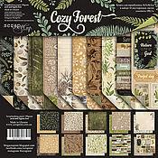 Материалы для творчества handmade. Livemaster - original item Set SM3700011 Paper Cozy Forest. Handmade.
