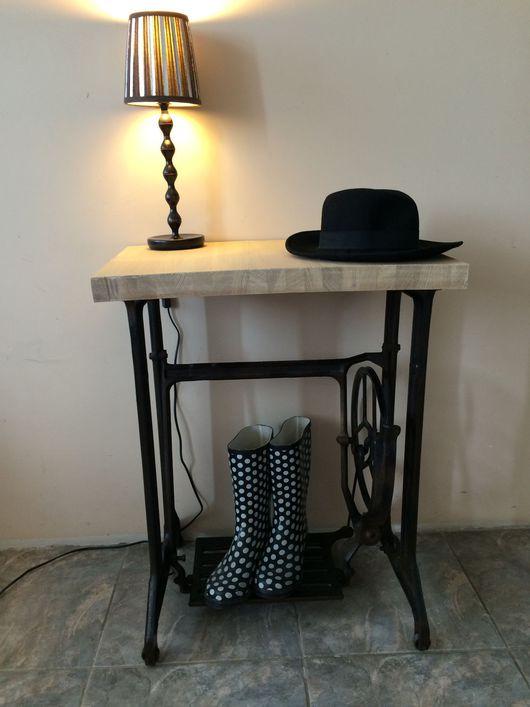 Мебель ручной работы. Ярмарка Мастеров - ручная работа. Купить Консоль. Handmade. Консольный столик, металл