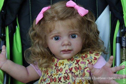 Куклы-младенцы и reborn ручной работы. Ярмарка Мастеров - ручная работа. Купить Евангелина,Молд Фридолин. Handmade. Кремовый, генезис