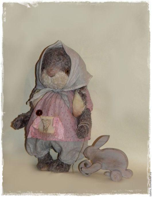 Мишки Тедди ручной работы. Ярмарка Мастеров - ручная работа. Купить Пуся. Handmade. Комбинированный, друзья мишек