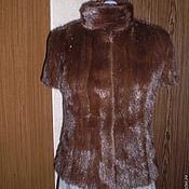 Одежда ручной работы. Ярмарка Мастеров - ручная работа Меховой жилет. Handmade.
