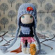 """Куклы и игрушки ручной работы. Ярмарка Мастеров - ручная работа Авторская кукла """"Малышка-рыжуля"""". Handmade."""