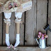 Куклы и игрушки ручной работы. Ярмарка Мастеров - ручная работа кукла тильда ручной работы БАРЫШНЯ В ЦВЕТОЧЕК 2. Handmade.