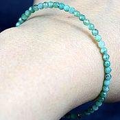 Украшения handmade. Livemaster - original item EMERALD NATURAL bracelet natural stones cut. Handmade.