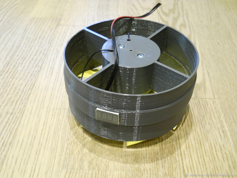 Рециркулятор на 3D принтере, модуль двигателя с таймером нараб. лампы, Шаблоны для печати, Москва,  Фото №1
