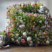 Украшения handmade. Livemaster - original item Beaded harness Spring. Handmade.