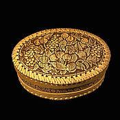 Для дома и интерьера handmade. Livemaster - original item Box of birch bark oval