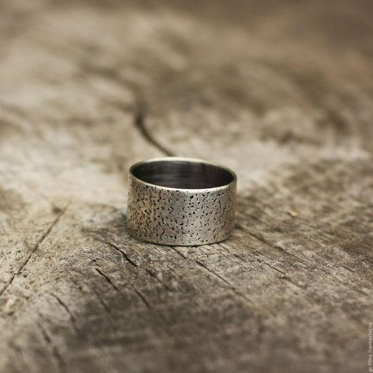 """Кольца ручной работы. Ярмарка Мастеров - ручная работа. Купить кольцо """"Фактура пять"""", серебро. Handmade. Серебряный, необычное украшение"""