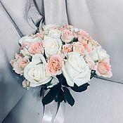 Свадебные букеты ручной работы. Ярмарка Мастеров - ручная работа Букет Невесты «Нежный». Handmade.
