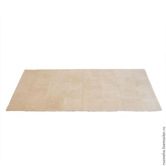Текстиль, ковры ручной работы. Ярмарка Мастеров - ручная работа. Купить Ковер из шкур овчины КОД: 509. Handmade. Белый