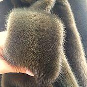 Норка чулком оливкового цвета. (Хаки)