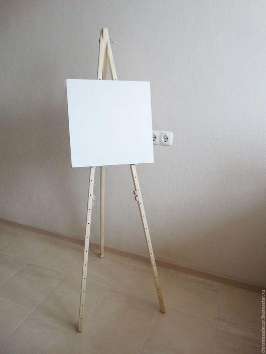 Мольберт напольный для художника, отличная тренога для тех, кто любит писать картины или кто только начинает свой творческий путь! Студийный мольберт для начинающего художника.