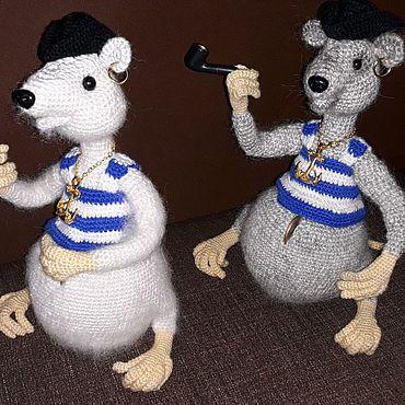 Куклы и игрушки ручной работы. Ярмарка Мастеров - ручная работа Крыса - копилка .. Handmade.