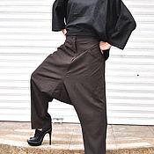 Одежда handmade. Livemaster - original item Stylish pants made of cool wool - PA0754CW. Handmade.