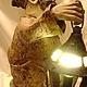 Освещение ручной работы. Гном с фонарем. Elena Sashina (Елена Сашина). Ярмарка Мастеров. Свет, папье-маше