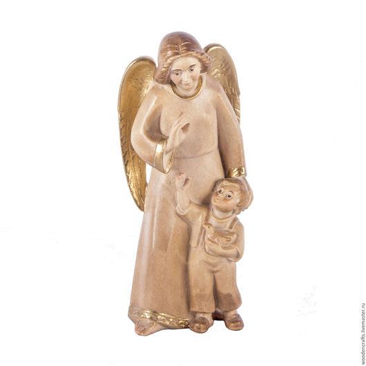 Персональные подарки ручной работы. Ярмарка Мастеров - ручная работа. Купить Ангел-хранитель с мальчиком. Handmade. Бежевый, хранитель, Пасха