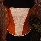 Одежда ручной работы. Ярмарка Мастеров - ручная работа Корсет с буквами. Handmade.